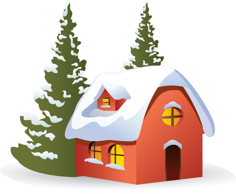 house winter clipart - photo #30