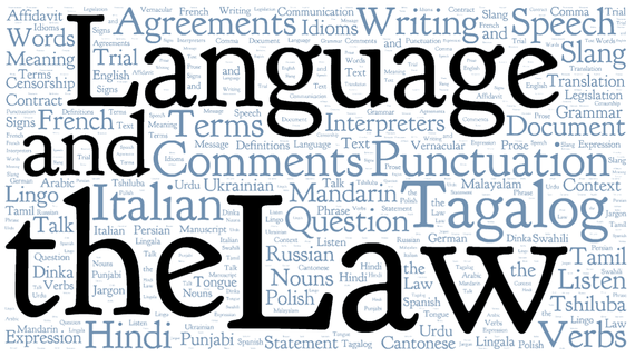 vol 38-4  language and the law