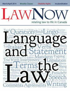 Cover: Language and the Lw