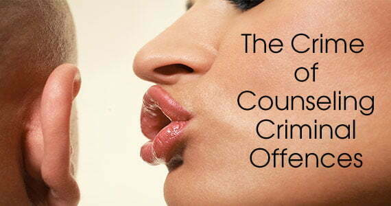 The Crime of Counseling Criminal Offences