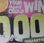 your family could win $10,000; guaranteed giveaway