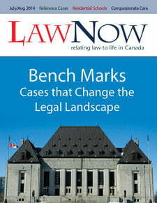 Cover: Bench Marks: Cases the Change the Legal Landscape