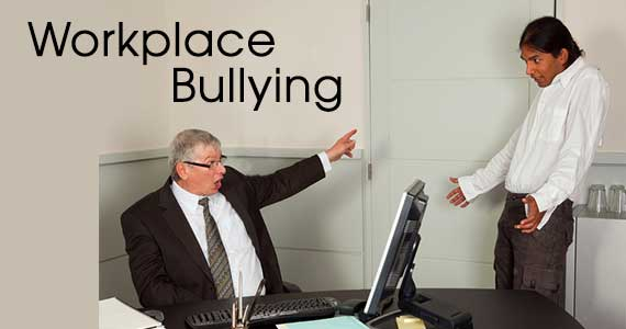 photo of boss yelling at employee