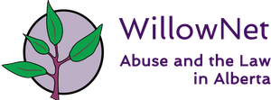 WillowNet logo: Abuse and the Law in Alberta