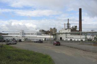 Former AbitibiBowater mill in Grand Falls-Windsor, Source: The Telegram