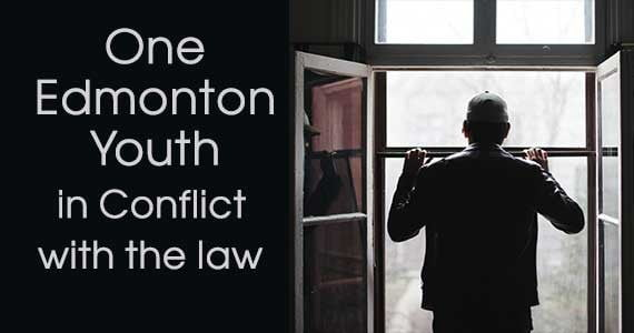 One Edmonton Youth in Conflict with the Law:  A Case Study