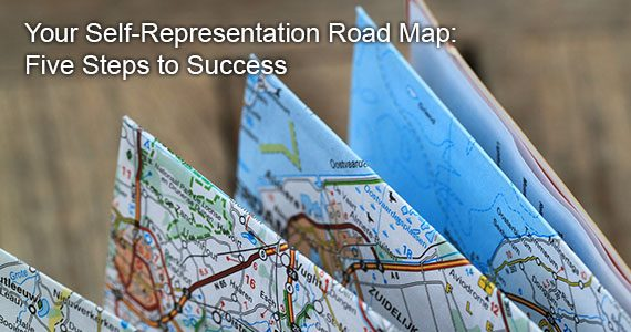 Your Self-Representation Road Map: Five Steps to Success  (And 5 Mistakes to Avoid)