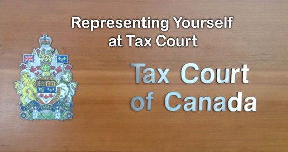 Representing Yourself at the Tax Court