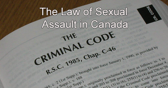 Sexual assault law in canada