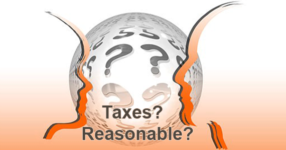 Taxes?  Reasonable?