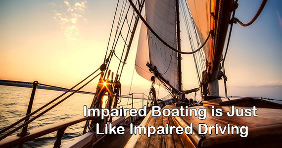 Impaired Boating is Just Like Impaired Driving