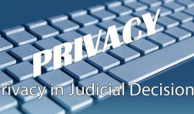 Privacy in Judicial Decisions
